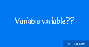 Variable used in programming.