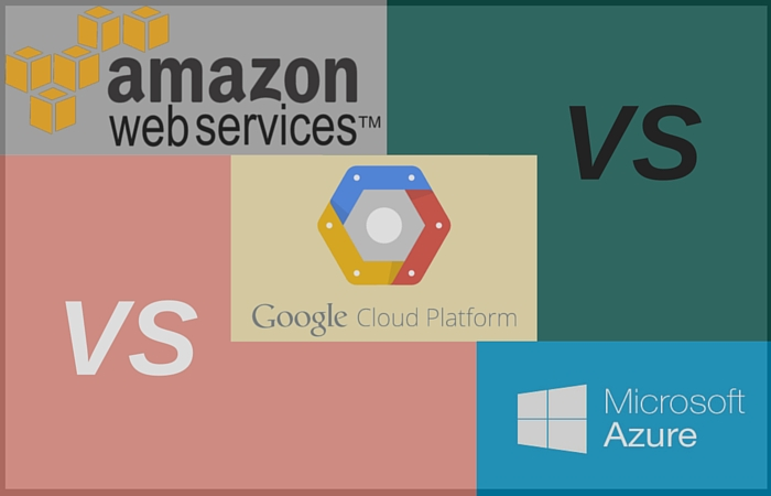Amazon Web Services vs Google Cloud Platform vs Azure