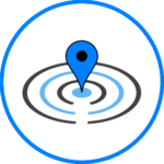 Location based service in software.