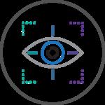 Eye tracking technology.
