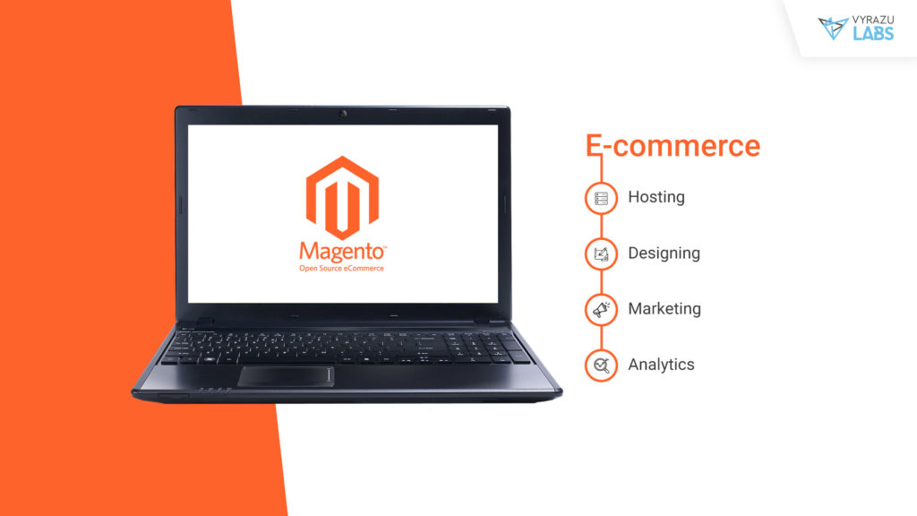 Magento based E-Commerce application development.