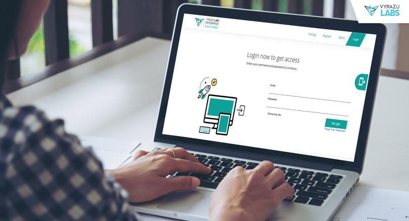 Vyrazu-HRM-login-page