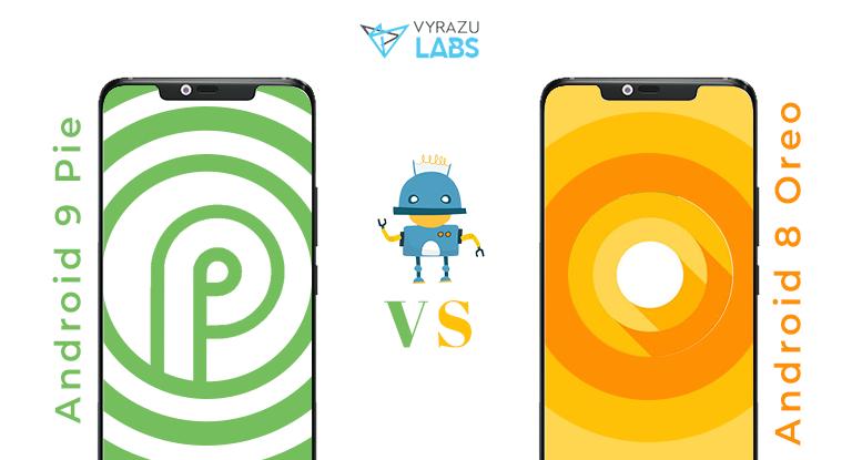 android oreo vs pie