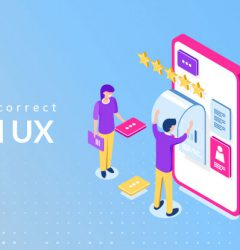 Correct UI and UX: