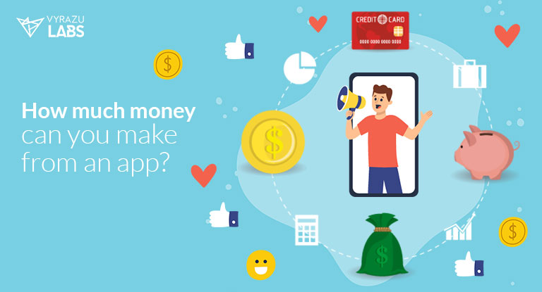 how much money can you earn through your mobile app