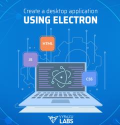 desktop application using Electron