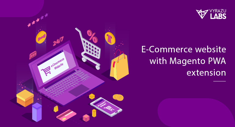 eCommerce website with Magento PWA extension