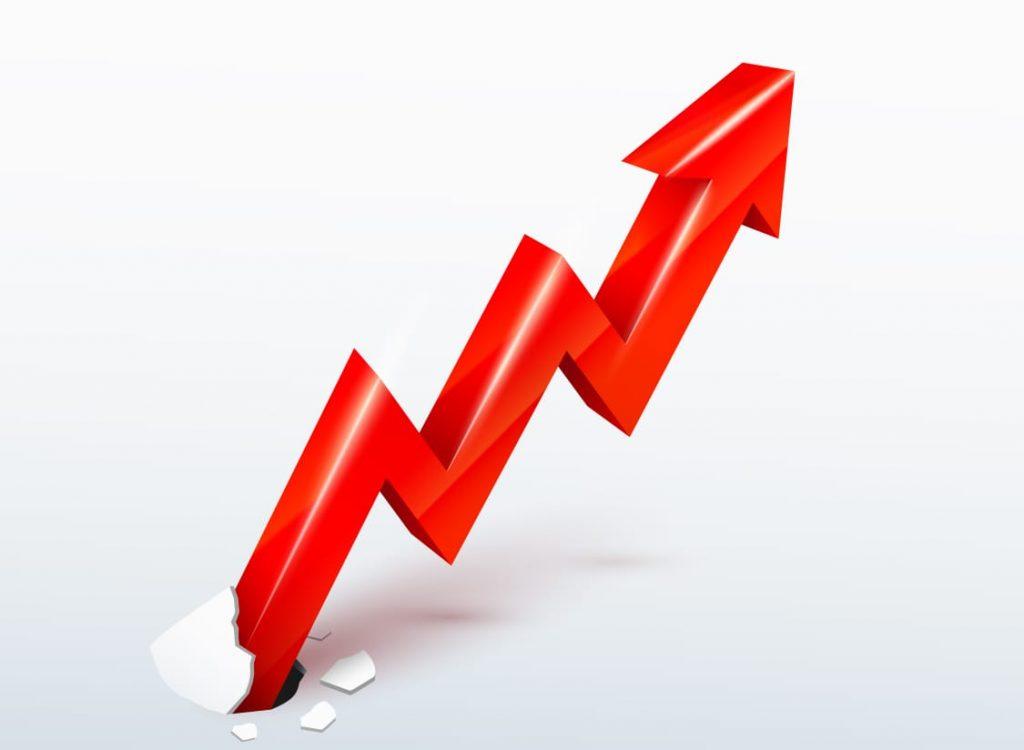 market arrow